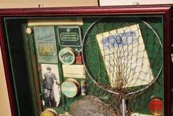 ARRIVING NOV  Early Fishing Memorabilia Display