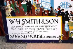 ARRIVING SOON 1920and96S WH Smithand96s + Sons Enamel Sign