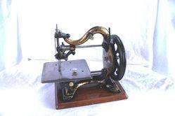 ARRIVING SOON Antique Franklin Agenoria Sewing Machine