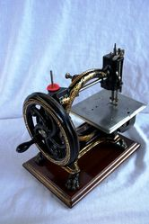 ARRIVING SOON Antique Shakespeare Sewing Machine