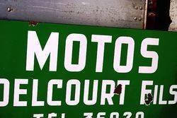 ARRIVING SOON Castrol Motor Cycle Enamel Sign