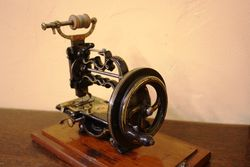 ARRIVING SOON James Weir Patent Sewing Machine