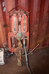 ARRIVING SOON Vickers Shellmex Wall Mount Petrol Pump