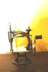 ARRIVING SOON  Antique Reliable Miniture Sewing Machine