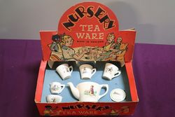 A Boxed Nursery Ten Set Made In England