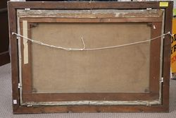 A C19th Framed Decorative Painting
