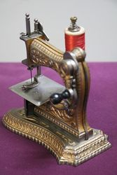 A Cast Mueller No 6 Toy Sewing Machine C1897