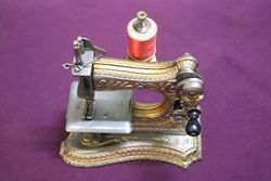A Cast Mueller No 6 Toy Sewing Machine C1897