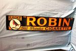 A Exceptional Robin Starch Strip Enamel Sign