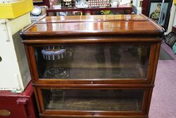 A Fine Pair of OfficeLibrary Bookcases