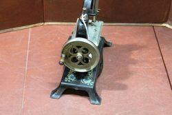 A German Casige No13 Tin Plate Miniature Sewing Machine