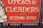 A J Macnab  Dyers Pictorial Enamel Sign