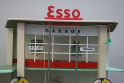 A Model Garage Surmounted With Esso Livery
