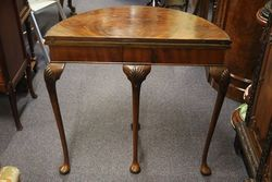 A Quality C20th Mahogany Card Table
