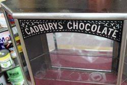A Rare Antique Cadburyand96s Shop Display Cabinet
