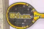 A Rare Early Wilson Tennis Racket Enamel Advertising Sign