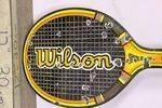 A Rare Early Wilson Tennis Racket Enamel Advertising Sign