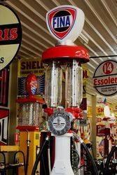 A Rare GB T8  Satam Manual Petrol Pump