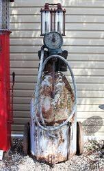 A Rare Samoa Chariot Manual Petrol Pump