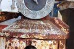 A Rare Satam Conical Manual Petrol Pump For Restoration