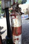 A Rare Satam Conical Manual Petrol Pump For Restoration
