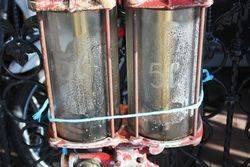A Rare Satam Wall Mount Petrol Pump