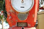 A Rare Themis Deluxe Petrol Pump For Restoration