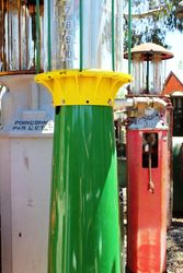 A Rare Wayne 515 10 Gallon Manual Petrol Pump For Restoration