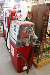 A Retro Satam Electric Petrol Pump