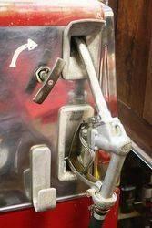 A Retro Satam Electric Petrol Pump