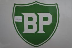 A Shell BP Agency Petrol Enamel Advertising Sign