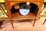 A Stunning Quality Late Victorian Shereton Revival Display Cabinet C1895