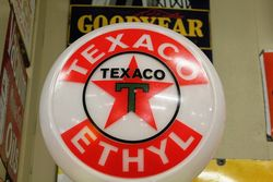 A Stunningly Restored Art Deco Wayne 60 Clockface In Texaco Livery