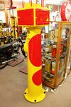 A Stunningly Restored GEX Letterbox Petrol Pump In Shell Livery