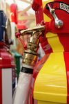 A Stunningly Restored Themis Deluxe Petrol Pump In Shell Livery