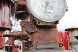 A Themis Manual Petrol Pump  For Restoration