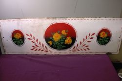 A Vintage Kitchen Splashback Pictorial Enamel Sign