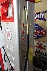 A Well Restored Art Deco GEX Petrol Pump In Texaco Livery