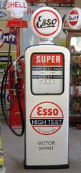 A Well Restored Boutillion Petrol Pump In Esso Livery