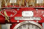 A Well Restored Boutillon French Conical Clockface Petrol Pump In Fina Livery