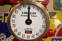 A Well Restored Boutillon Manual Petrol Pump In Shell Livery