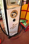 A Well Restored French Aster Dux Electric Petrol Pump In National Benzole Livery