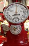 A Well Restored Themis Texaco Manual Petrol Pump
