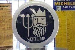 A Well Restored Wayne 605 Petrol Pump In Neptune Livery