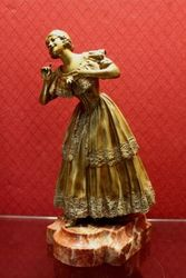 A Wonderful Bronze Figure of a Woman
