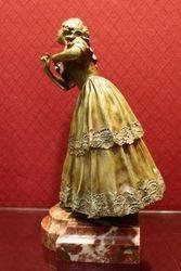 A Wonderful Bronze Figure of a Woman