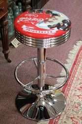 Adjustable GarageBar Stool Coca Cola