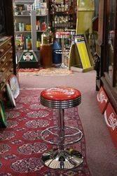 Adjustable GarageBar Stool Coca Cola