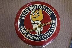 Adjustable GarageBar Stool Esso Motor Oil