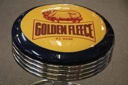 Adjustable GarageBar Stool Golden Fleece